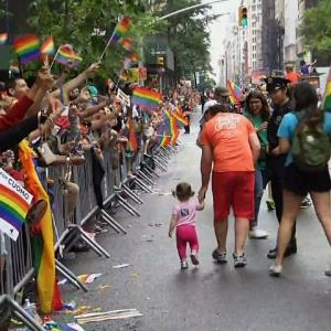 Thousands Flood NY Streets For Pride Parade
