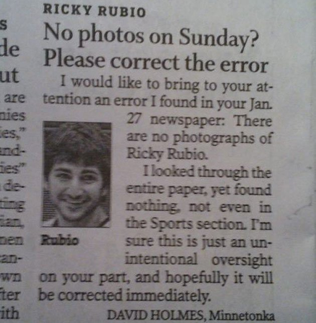 Write a letter to the editor of a newspaper complaining