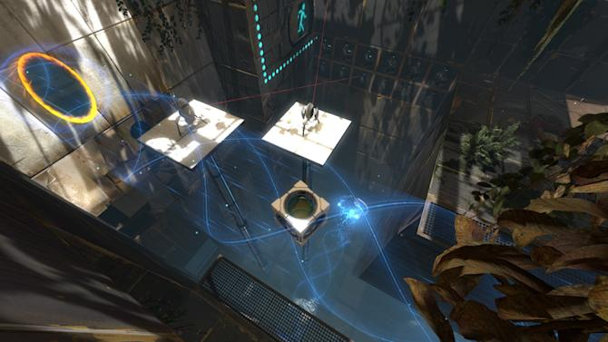"""In this video game image released by Valve, a scene is shown from the game """"Portal 2."""" (AP Photo/Valve)."""