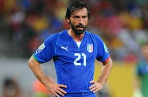 Pirlo ruled out of Uruguay clash