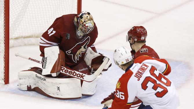 Coyotes rally for 2-1 overtime win over Florida