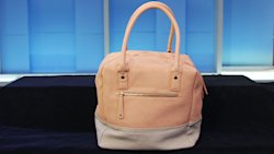 Street Level's color-blocked blush/peach bag