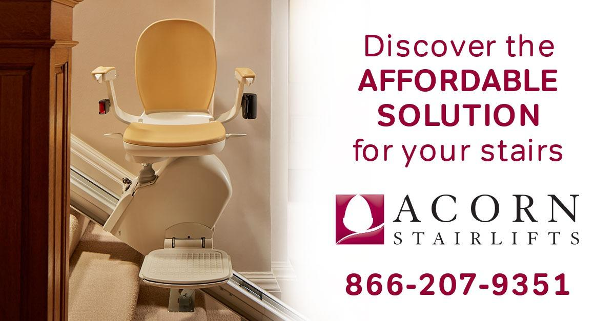 Get a Free Acorn Stairlift Quote Now