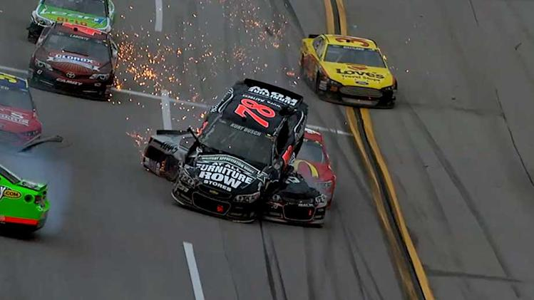 5-Hour Energy Craziest Moment From The Track: Aaron's 499