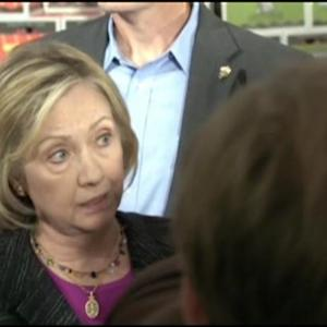 Clinton Says She's `Glad' E-Mails Being Released
