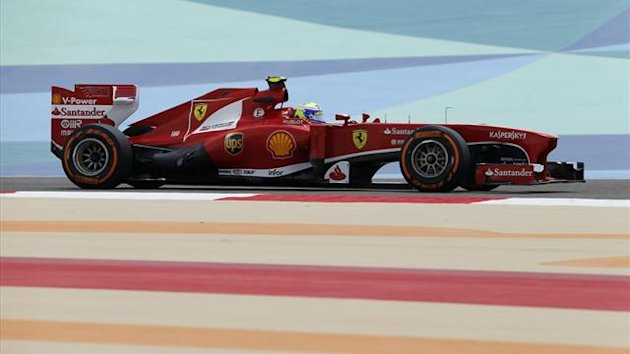 Felipe Massa topped the first practice session of the Bahrain GP (Reuters)