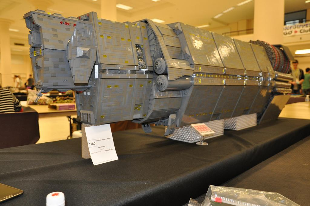 Halo Fan Spent 3.5 Years, $7,000 Creating Epic Lego Ship