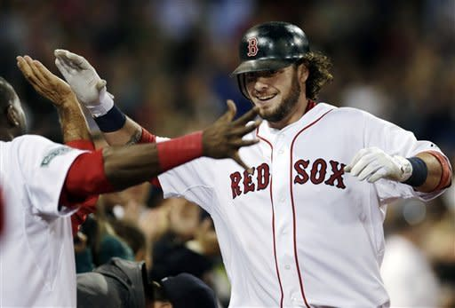 Red Sox rally for 5-1 win over Blue Jays