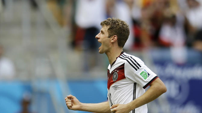 Germany scores 4 without a striker in lineup