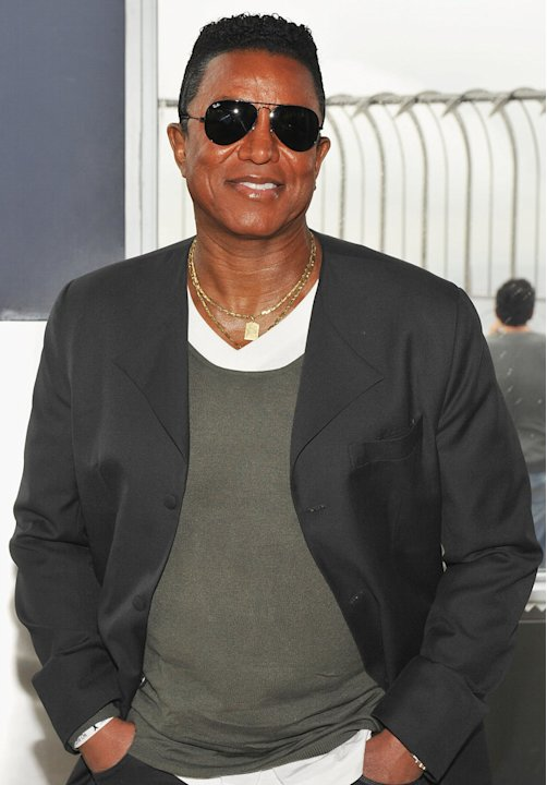 Jermaine Jackson Jermaine Jackson Visits The Empire State Building