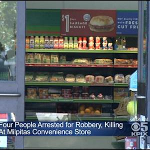 4 Arrested In Killing Of Clerk At Milpitas 7-Eleven