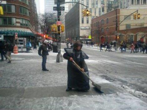 Photos: Snow Sticking in New York