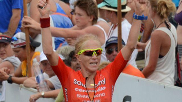 Triathlete fights for gender equality in Ironman