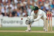 Mark Boucher suffered an eye injury against Somerset