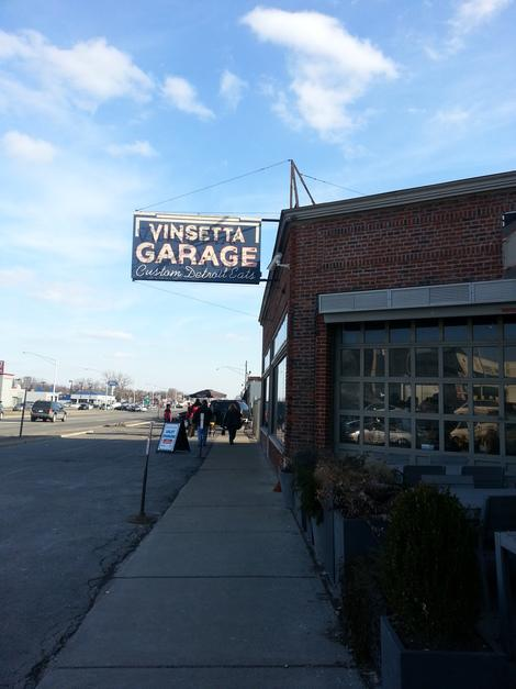 Classic Detroit Grit Meets Modern Comfort Food at Vinsetta Garage