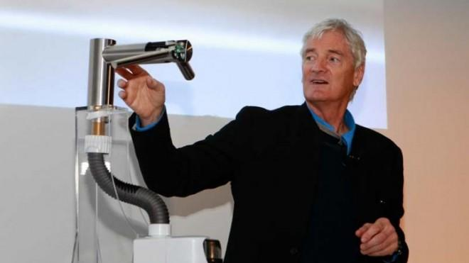The inventor explains his revolutionary faucet.
