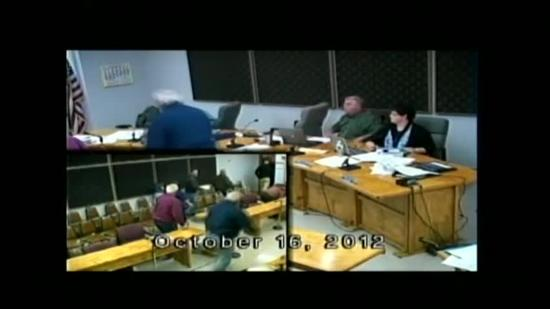 Good video: Earthquake strikes during Waterboro town meeting