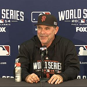 Giants Beat Royals to Tie World Series