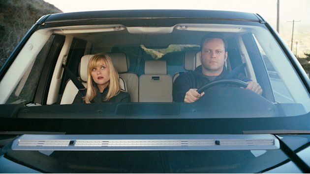 Reese Witherspoon Vince Vaughn Four Christmases Production Stills Warner Bros. 2008