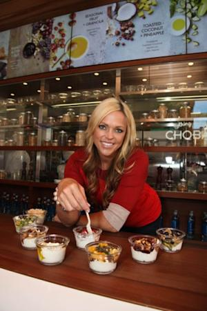 Jennie Finch as the new spokesperson for Chobani yogurt -- Getty Images