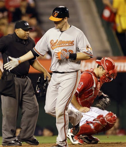 Angels rally past Orioles 9-7