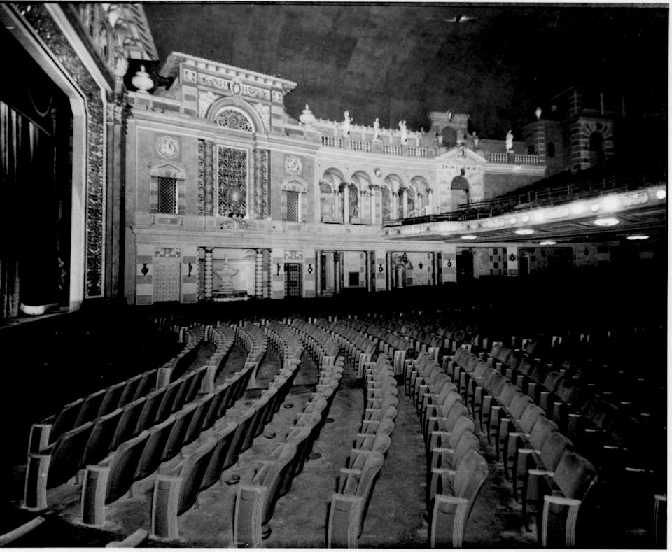This circa 1930 photo provided by ACE Theatrical Group LLC shows the interior of the Saenger Theater in New Orleans. (AP Photo/ACE Theatrical Group LLC)
