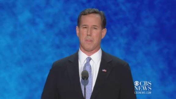 Santorum: Romney, Ryan will …