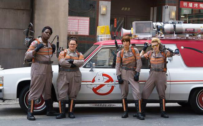 The 'Ghostbusters' Trailer Has A Premiere Date And A Dramatic Teaser