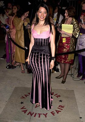 Lucy Liu 73rd Academy Awards Vanity Fair Party Beverly Hills, CA 3/25/2001