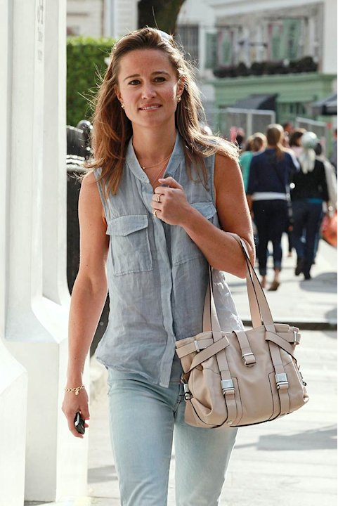 Pippa Middleton London Sighting