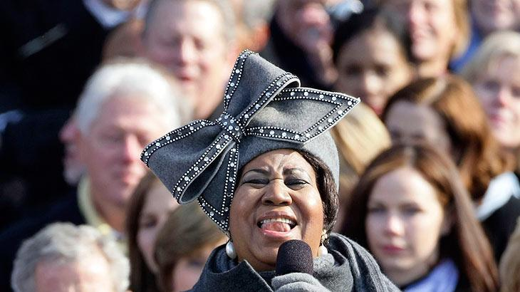 Franklin Aretha Inauguration