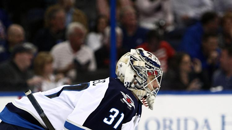 NHL: Winnipeg Jets at Tampa Bay Lightning