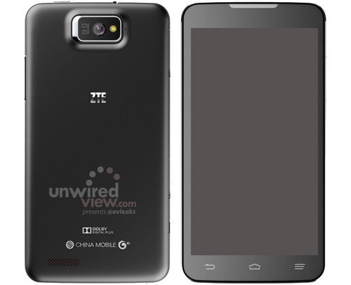 ZTE P945 5.7-inch phablet rumoured. Phones, ZTE, Android, CES2013 0