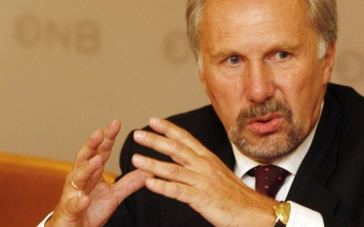 <p>European Central Bank governing council member Ewald Nowotny, pictured in 2008, called Sunday for Greece to be given more time to sort out its finances, ahead of a eurozone meeting which will examine if the debt-wracked country should get two extra years to carry out reforms.</p>