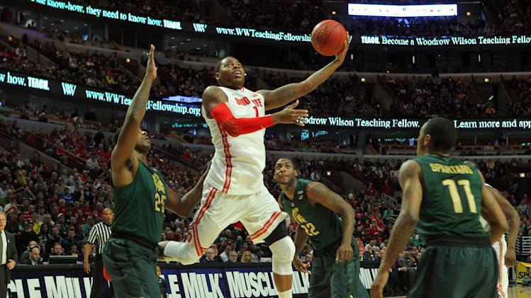 NCAA Basketball: Big Ten Tournament-Ohio State vs Michigan State