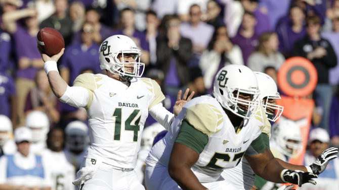 Petty, INTs help No. 9 Baylor hold off TCU 41-38