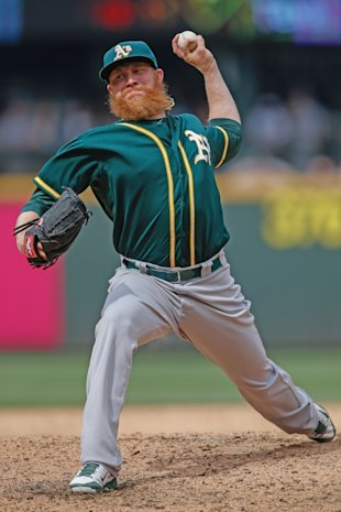 Lots of A's wins has meant little for Doolittle.(Getty)
