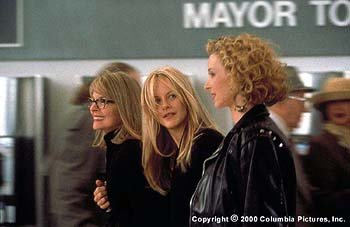 Diane Keaton , Meg Ryan and Lisa Kudrow as three sisters dealing with life, love and the telephone as they care for their wacky father in Columbia's Hanging Up
