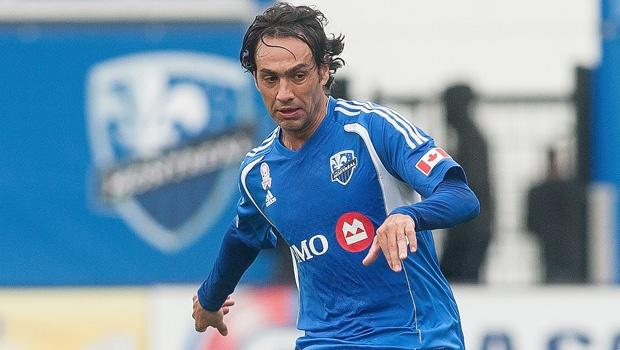 Montreal Impact's Alessandro Nesta, Hernan Bernardello training, but may not play at Houston