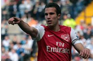 Mancini: Van Persie is an Arsenal player, not ours