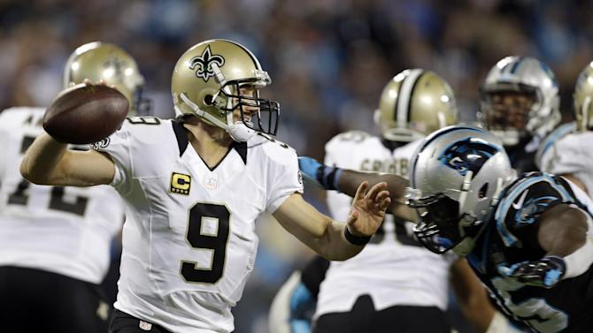 Saints top Panthers 28-10 to take NFC South lead