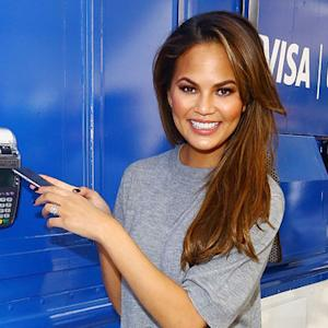 Chrissy Teigen Launches Apple Pay with Visa in NYC