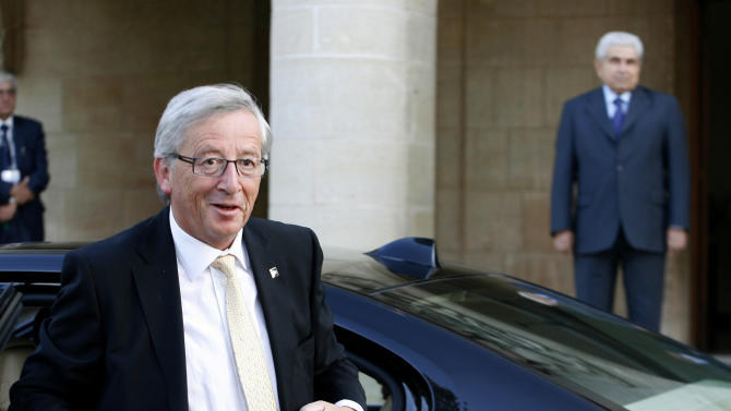 Juncker: Cyprus bailout talks need speeding up