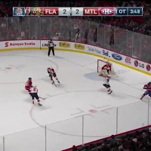 Roberto Luongo Save on Brendan Gallagher (01:14/OT)
