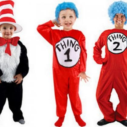 Cat in the Hat, Thing 1 and Thing 2