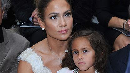 J.Lo Brings Emme to Her First Fashion Show