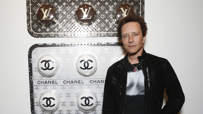 Billy Morrison attends the LA Art Show hosted by Ali Larter and Hayes MacArthur Benefiting the Art of Elysium at the LA Convention Center on Wednesday, Jan. 23, 2013, in Los Angeles. (Photo by Todd Williamson/Invision/AP)