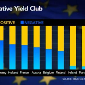 Are European Negative Bond Yields Justified?