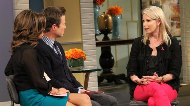 'Parenthood' star Monica Potter chats with Kit Hoover and Billy Bush on Access Hollywood Live on October 10, 2012 -- Access Hollywood
