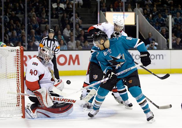 Ottawa Senators v San Jose Sharks